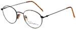 Calabria Designer Eyeglasses Seb-782 in Tortoise Black 48mm :: Custom Left & Right Lens