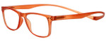 Magz Designer Eyeglasses Astoria in Orange 50mm :: Custom Left & Right Lens