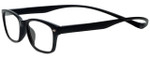 Magz Designer Eyeglasses Greenwich in Black 50mm :: Custom Left & Right Lens