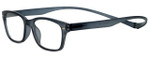 Magz Designer Eyeglasses Greenwich in Smoke 50mm :: Custom Left & Right Lens
