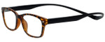 Magz Designer Eyeglasses Greenwich in Tortoise 50mm :: Custom Left & Right Lens