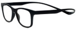 Magz Designer Eyeglasses Chelsea in Black 50mm :: Rx Single Vision