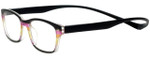 Magz Designer Eyeglasses Greenwich in Multi Black 50mm :: Rx Single Vision