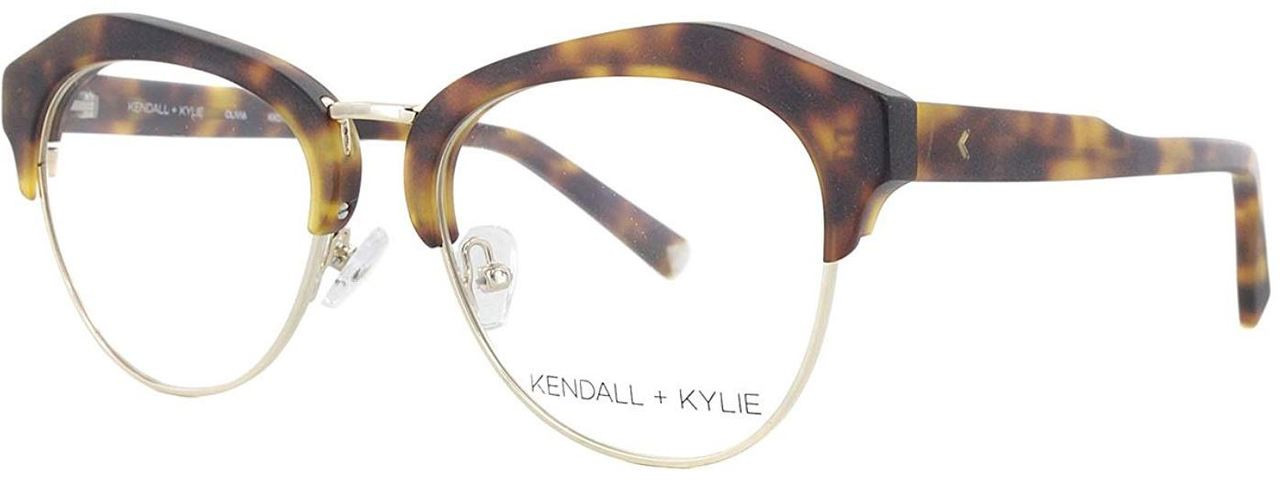 d7ef03768f3 Kendall + Kylie Designer Reading Glasses Olivia KKO108-215 in Dark Tortoise  52mm. Loading zoom