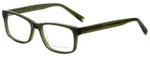 Kendall + Kylie Designer Eyeglasses JaneKKO120-301 in Green 53mm :: Rx Single Vision
