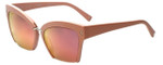 Kendall + Kylie Designer Sunglasses Brooke KK5001-540 in Pink 55mm