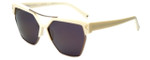 Kendall + Kylie Designer Sunglasses Melrose KK5003-104 in Cream 59mm