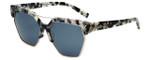 Kendall + Kylie Designer Sunglasses Melrose KK5003-106 in Crystal Speckle Demi 59mm