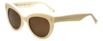 Kendall + Kylie Designer Sunglasses Charli KK5007-104 in Cream 52mm