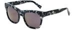 Kendall + Kylie Designer Sunglasses Cassie KK5008-961 in Black and White Marble Demi 54mm