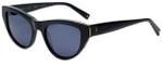 Kendall + Kylie Designer Reading Glasses Sienna KK5015-001 in Shiny Black 52mm