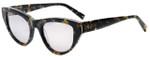 Kendall + Kylie Designer Reading Glasses Sienna KK5015-017 in Black Mother of Pearl 52mm