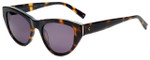 Kendall + Kylie Designer Sunglasses Sienna KK5015-215 in Shiny Dark Tortoise 52mm