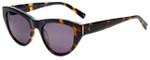 Kendall + Kylie Designer Reading Glasses Sienna KK5015-215 in Shiny Dark Tortoise 52mm