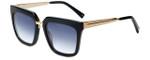 Kendall + Kylie Designer Reading Glasses Karissa KK5017-001 in Black 54mm