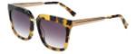 Kendall + Kylie Designer Sunglasses Karissa KK5017-281 in Tokyo Tortoise 54mm