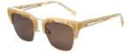 Kendall + Kylie Designer Sunglasses Cosette KK5030-104 in Peach Pearl 51mm