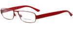 Ralph Lauren Polo Designer Eyeglasses PH1133-9243 in Matte Red 52mm :: Rx Bi-Focal