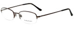 Ralph Lauren Polo Designer Eyeglasses PH1142-9013-51 in Shiny Brown 51mm :: Rx Bi-Focal