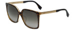 Fendi Designer Sunglasses FF0076-DVO in Tortoise 58mm