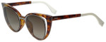 Fendi Designer Sunglasses FF0136-NY2 in Ruthenium Havana 51mm