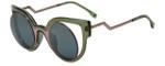 Fendi Designer Sunglasses FF0137-NTA in Pink Green 49mm