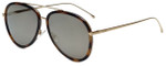 Fendi Designer Sunglasses FF0155-0C1 in Havana 57mm