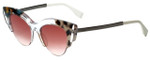 Fendi Designer Sunglasses FF0178-TDW in Crystal Multicolor 50mm