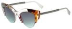 Fendi Designer Sunglasses FF0178-TKU in Pink Pattern 50mm