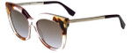 Fendi Designer Sunglasses FF0179-27N in Pink Crystal 53mm