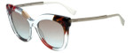 Fendi Designer Sunglasses FF0179-TKV in Azure Crystal 53mm