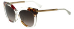 Fendi Designer Sunglasses FF0179-TKW in Honey Multicolor 53mm