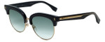 Fendi Designer Sunglasses FF0154-VJG in Black 54mm