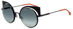 Fendi Designer Sunglasses FF0177-003 in Matte Black 53mm