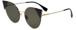 Fendi Designer Sunglasses FF0190-000 in Rose Gold 57mm