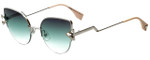 Fendi Designer Sunglasses FF0242-VGV in Silver 52mm