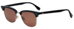 Fendi Designer Sunglasses FFM0003-807 in Black 52mm