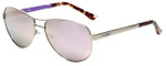 Candie's Designer Sunglasses CA1018-08Z in Silver 58mm