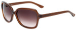 Candie's Designer Sunglasses COS2044-BRN-34 in Brown Glitter 56mm