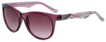 Candie's Designer Sunglasses Aria in Plum 56mm