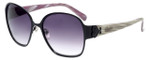 Candie's Designer Sunglasses Harper in Black 58mm