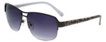Candie's Designer Sunglasses Iris in Gunmetal 58mm