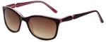 Candie's Designer Sunglasses Kit in Brown 53mm