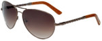 Oscar de la Renta Designer Sunglasses SSC4031-718 in Brown 60mm