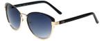 Oscar de la Renta Designer Sunglasses SSC4036-770 in Black Gold 57mm