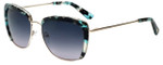 Oscar de la Renta Designer Sunglasses SSC4040-450 in Blue Tortoise 59mm