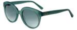 Oscar de la Renta Designer Sunglasses SSC5162-300 in Milky Aqua 53mm