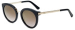 Oscar de la Renta Designer Sunglasses SSC5164-001 in Black 52mm