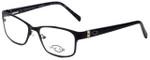 Oscar De La Renta Designer Eyeglasses OSL456-001 in Black 53mm :: Rx Single Vision