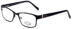 Oscar De La Renta Designer Eyeglasses OSL456-001 in Black 53mm :: Progressive
